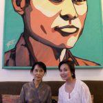 Loren meets with Aung San Suu Kyi
