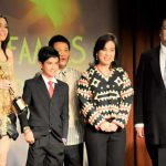 Sen. Loren Legarda gives first Environmental Award for Film at the 59th FAMAS Awards