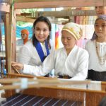 Turn-over of Balungis Trading Center and handlooms for the Balungis Women's Association