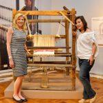 Legarda Tours Lady de Rothschild in New Textile Galleries
