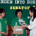 Loren Brings Green Campaign to Panay Island