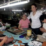Loren calls for greater support for Marikina Shoe Industry