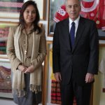 Senator Legarda with US Ambassador Philip S. Goldberg