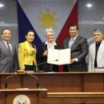 Senate Commends Former UNISDR Head, Ms. Margareta Wahlstrom