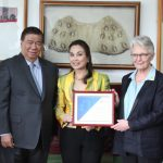 Legarda Formally Accepts Appointment as UN Global Champion for Resilience