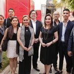 "Vernissage of the Philippine Pavilion in the 15th Architecture Venice Biennale ""Muhon: Traces of an Adolescent City"""