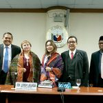 Senator Loren Legarda receives in the Senate a delegation from the House of Regional Representatives of the Republic of Indonesia