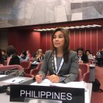 Legarda at the 138th Assembly of the Inter-Parliamentary Union (IPU) in Geneva, Switzerland