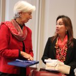 Senator Loren Legarda Meets IMF's Lagarde on PH-IMF Cooperation, Climate Change, Other Emerging Issues