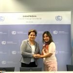Senator Loren Legarda meets with Patricia Espinosa, Executive Secretary of the United Nations Framework Convention on Climate Change (UNFCCC)