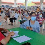 AICS disbursement in Calatagan Batangas
